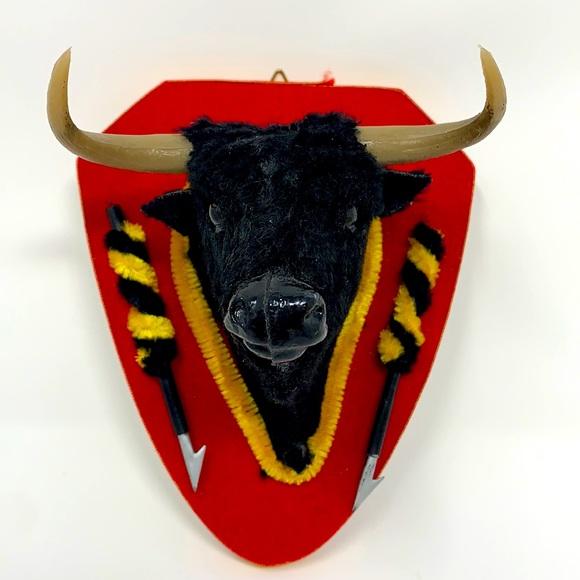 Toro running of the bulls wall plaque decoration